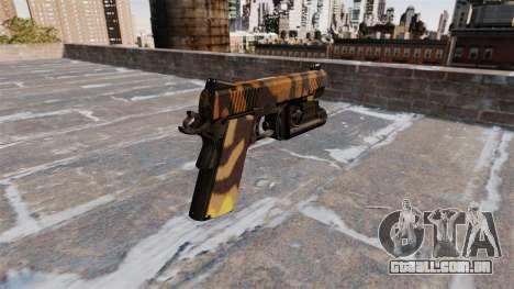 Pistola Semi-automática Kimber Queda Camos para GTA 4 segundo screenshot