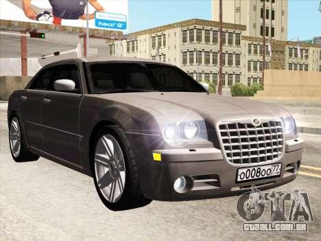 Chrysler 300C 2009 para GTA San Andreas esquerda vista