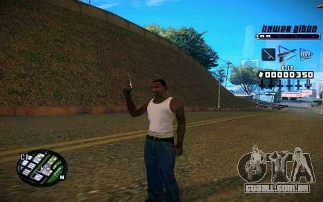 C-HUD Tawer Gitto para GTA San Andreas terceira tela