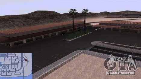 Novas texturas Estação ferroviária em Las Ventur para GTA San Andreas sexta tela