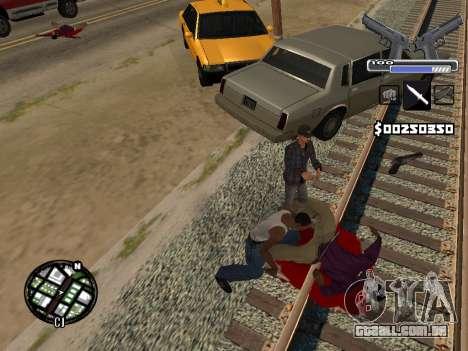 C-HUD Deagle para GTA San Andreas sexta tela