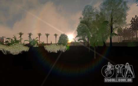 ENBSeries pelo AVATAR 4.0 Final para o PC fraco para GTA San Andreas segunda tela