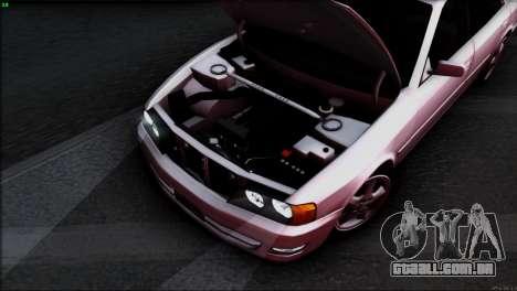 Toyota Chaser Tourer V para o motor de GTA San Andreas