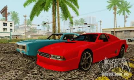 New Cheetah v1.0 para GTA San Andreas vista direita