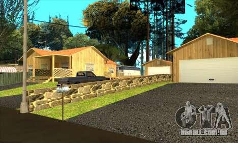 Aldeia nova Gillemyr v1.0 para GTA San Andreas por diante tela