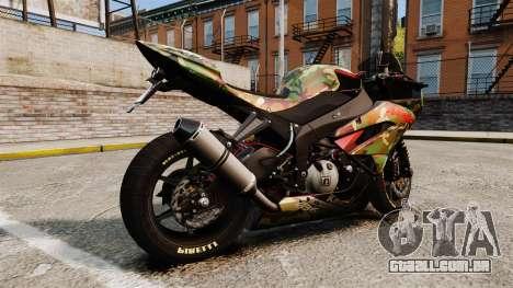 Kawasaki Ninja ZX-6R v2.0 para GTA 4 esquerda vista