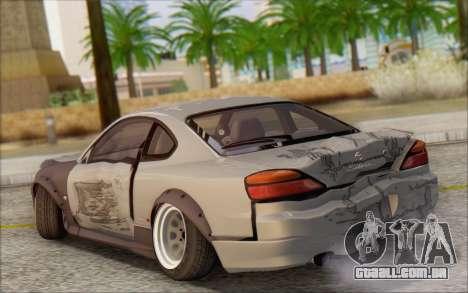 Nissan Silvia S15 Fail Camber para GTA San Andreas vista superior