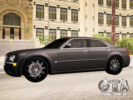 Chrysler 300C 2009 para GTA San Andreas interior