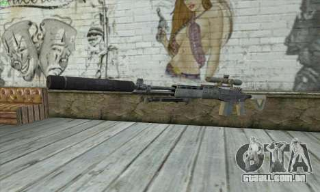 Sniper Rifle из MW2 para GTA San Andreas