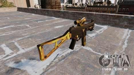 A metralhadora UMP45 Queda Camos para GTA 4 segundo screenshot