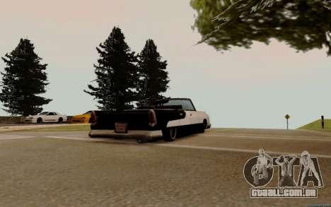 Oceânica Conversível para GTA San Andreas vista direita