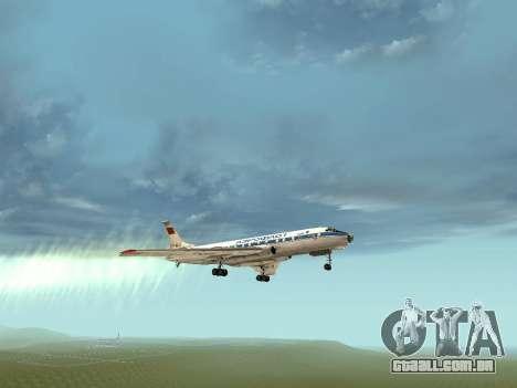 Tu-Um para GTA San Andreas vista superior