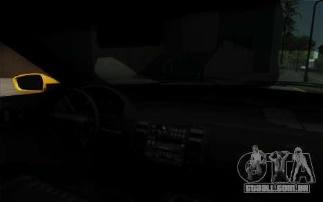 Buffalo Taxi para GTA San Andreas vista direita
