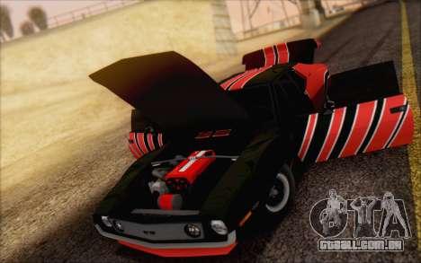 AMC Javelin para GTA San Andreas vista traseira
