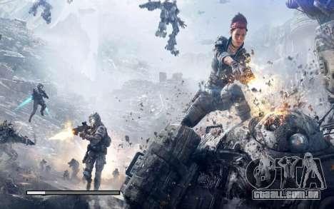 Arranque telas e menus Titanfall para GTA San Andreas sexta tela