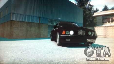 BMW 735iL E32 ver 2 para GTA 4 vista direita