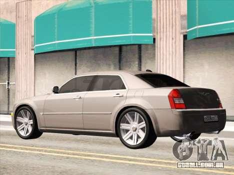Chrysler 300C 2009 para GTA San Andreas vista interior