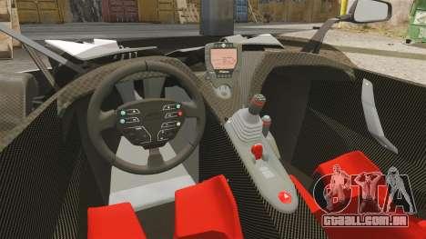 KTM X-Bow R para GTA 4 vista de volta