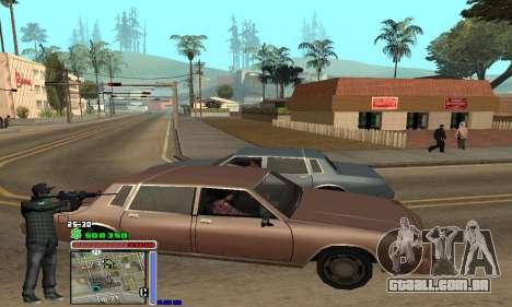 C-HUD Grove by Krutoyses para GTA San Andreas segunda tela