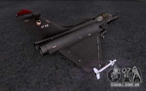 Dassault Rafale M para o motor de GTA San Andreas
