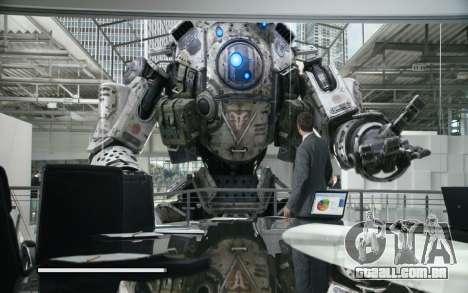 Arranque telas e menus Titanfall para GTA San Andreas sétima tela