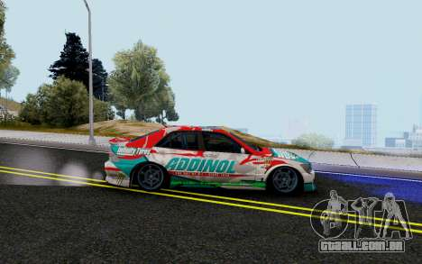 Toyota Altezza Addinol para GTA San Andreas esquerda vista