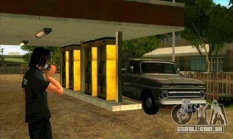 A revitalização da aldeia Montgomery para GTA San Andreas quinto tela
