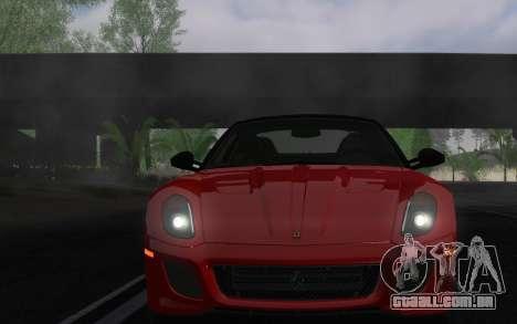 ENBSeries pelo AVATAR 4.0 Final para o PC fraco para GTA San Andreas