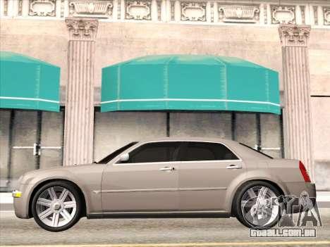 Chrysler 300C 2009 para GTA San Andreas vista traseira