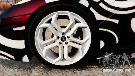 Lamborghini Aventador LP700-4 2012 [EPM] Circle para GTA 4 vista de volta
