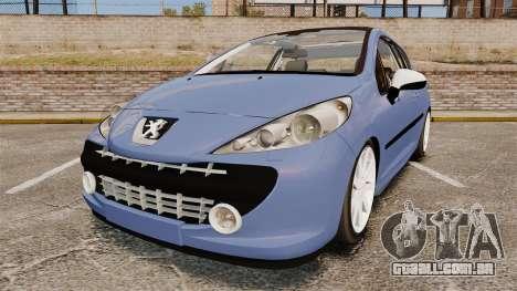 Peugeot 207 RC para GTA 4