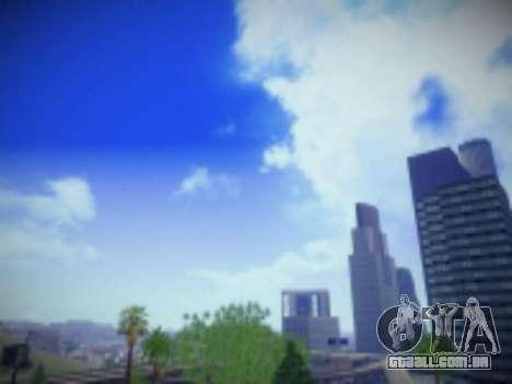 SkyBox Arrange - Real Clouds and Stars para GTA San Andreas segunda tela