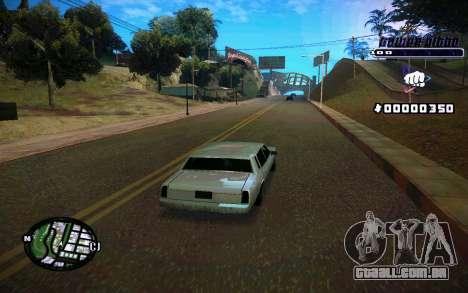 C-HUD Tawer Gitto para GTA San Andreas quinto tela