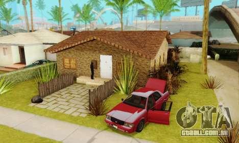 Novas texturas da casa de Denis para GTA San Andreas