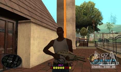 C-HUD Old-Rifa para GTA San Andreas terceira tela