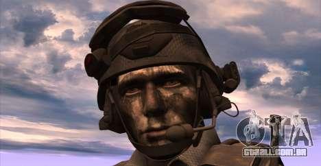 Tenente David Hesh Walker из Call Of Duty: Ghost para GTA San Andreas quinto tela