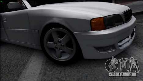 Toyota Chaser Tourer V para GTA San Andreas vista direita