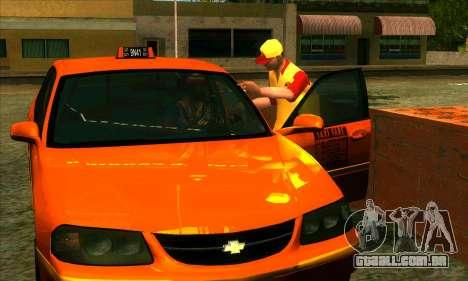 A revitalização da aldeia Montgomery para GTA San Andreas segunda tela