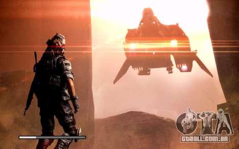 Arranque telas e menus Titanfall para GTA San Andreas nono tela
