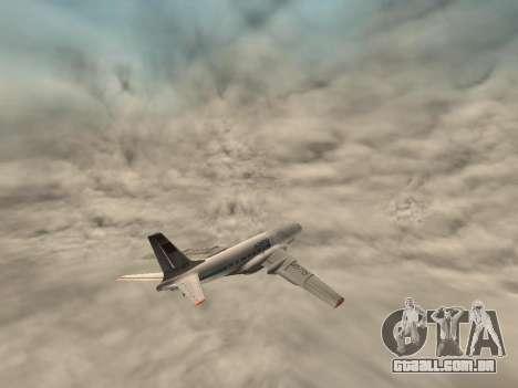 Tu-Um para vista lateral GTA San Andreas