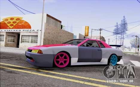 Elegy New Drift Kor4 para GTA San Andreas vista interior
