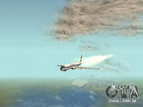 Tu-Um para GTA San Andreas vista interior