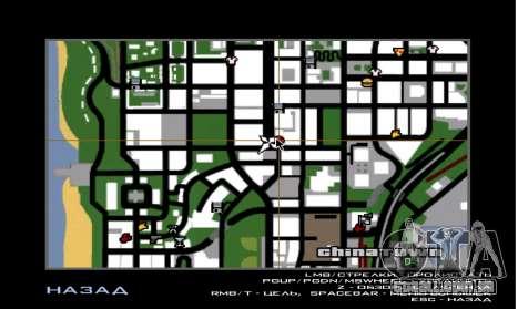 O novo depósito, em San Piero para GTA San Andreas sexta tela