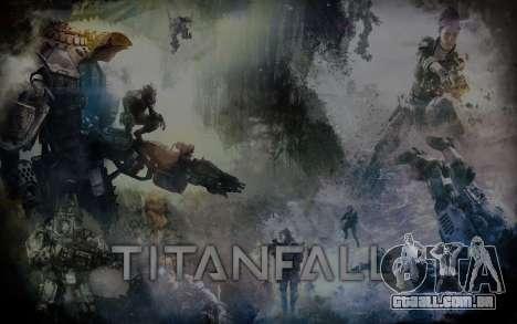 Arranque telas e menus Titanfall para GTA San Andreas terceira tela