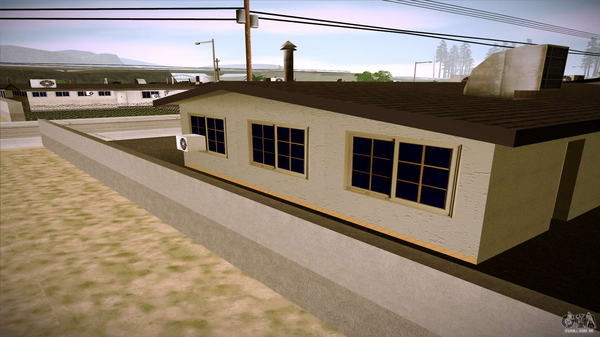 Casas novas em las venturas v1 0 para gta san andreas for Casa moderna gta sa