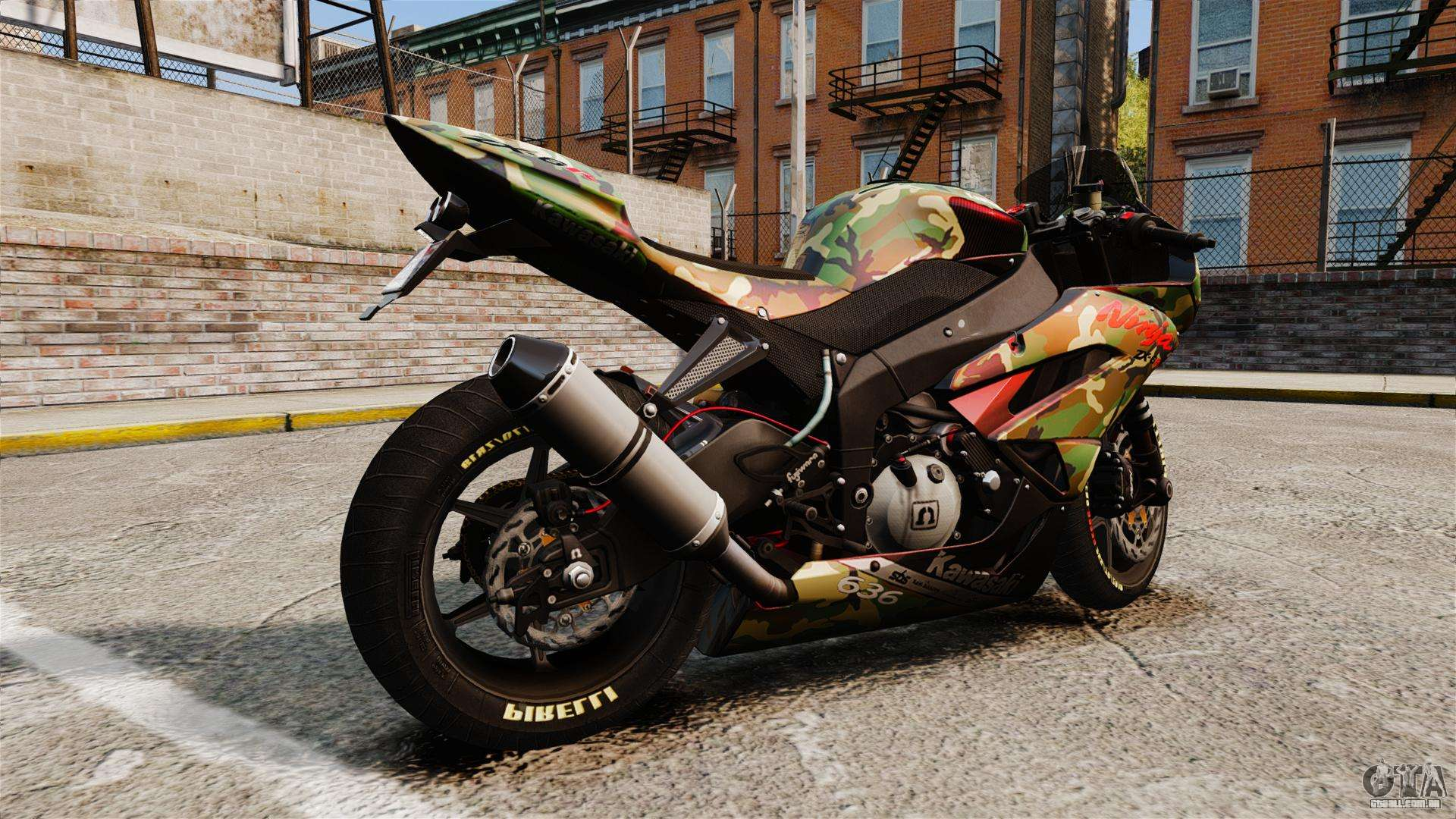 Kawasaki Ninja ZX-6R  № 1588160 бесплатно