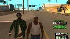 С-HUD Grove Street para GTA San Andreas