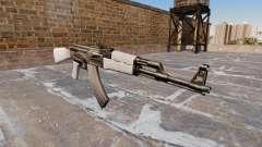 A AK-47 Chrome