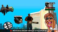 Arma & Radar VanCee Estilo Pack v1