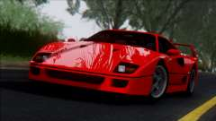 Ferrari F40 1987 para GTA San Andreas